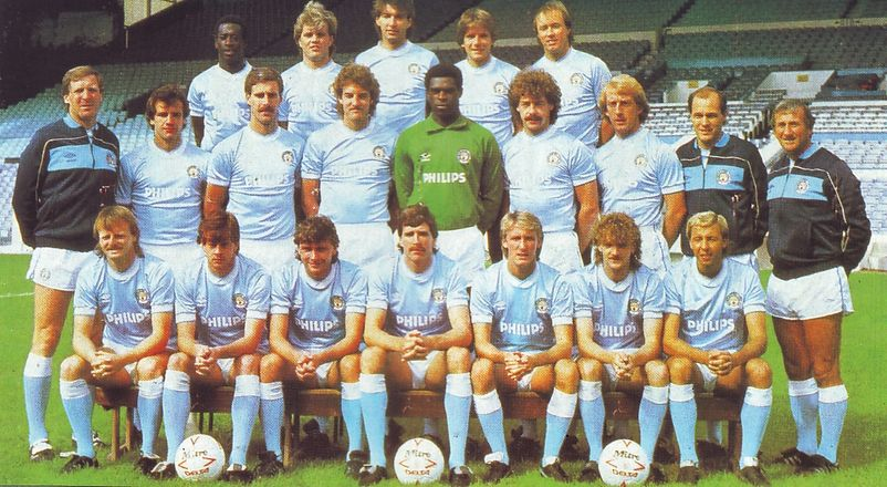 City team group 1985 to 86
