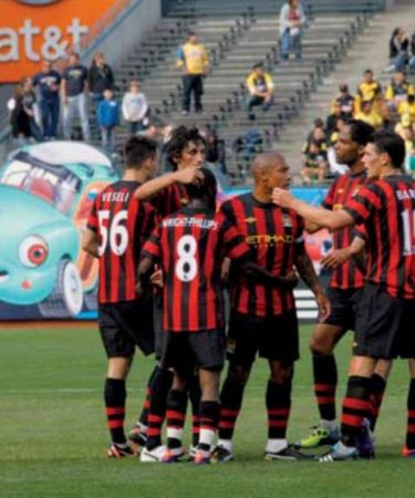 Club america 2011 to 12 swp goal celeb