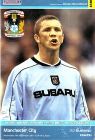 Coventry away 2001 to 02 proga