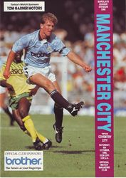 Coventry home 1990 to 91 prog
