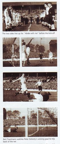 Doncaster away 1950 to 51 action shots