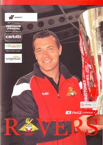Doncaster away friendly 2007 to 08 prog