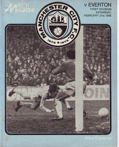 Everton home 1975 to 76 prog