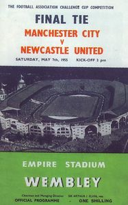 FA CUP FINAL 1954 to 55 prog