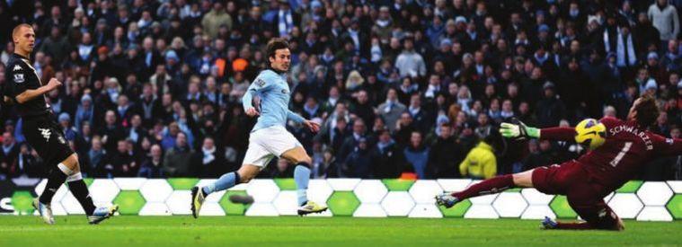 Fulham home 2012 to 13 silva 1st goal