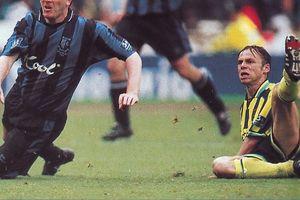 Gillingham playoff final 1998 to 99 dickov goal3