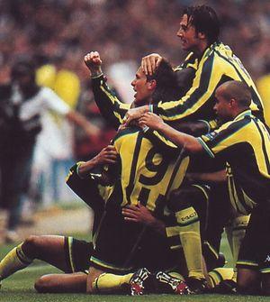 Gillingham playoff final 1998 to 99 dickov goal4