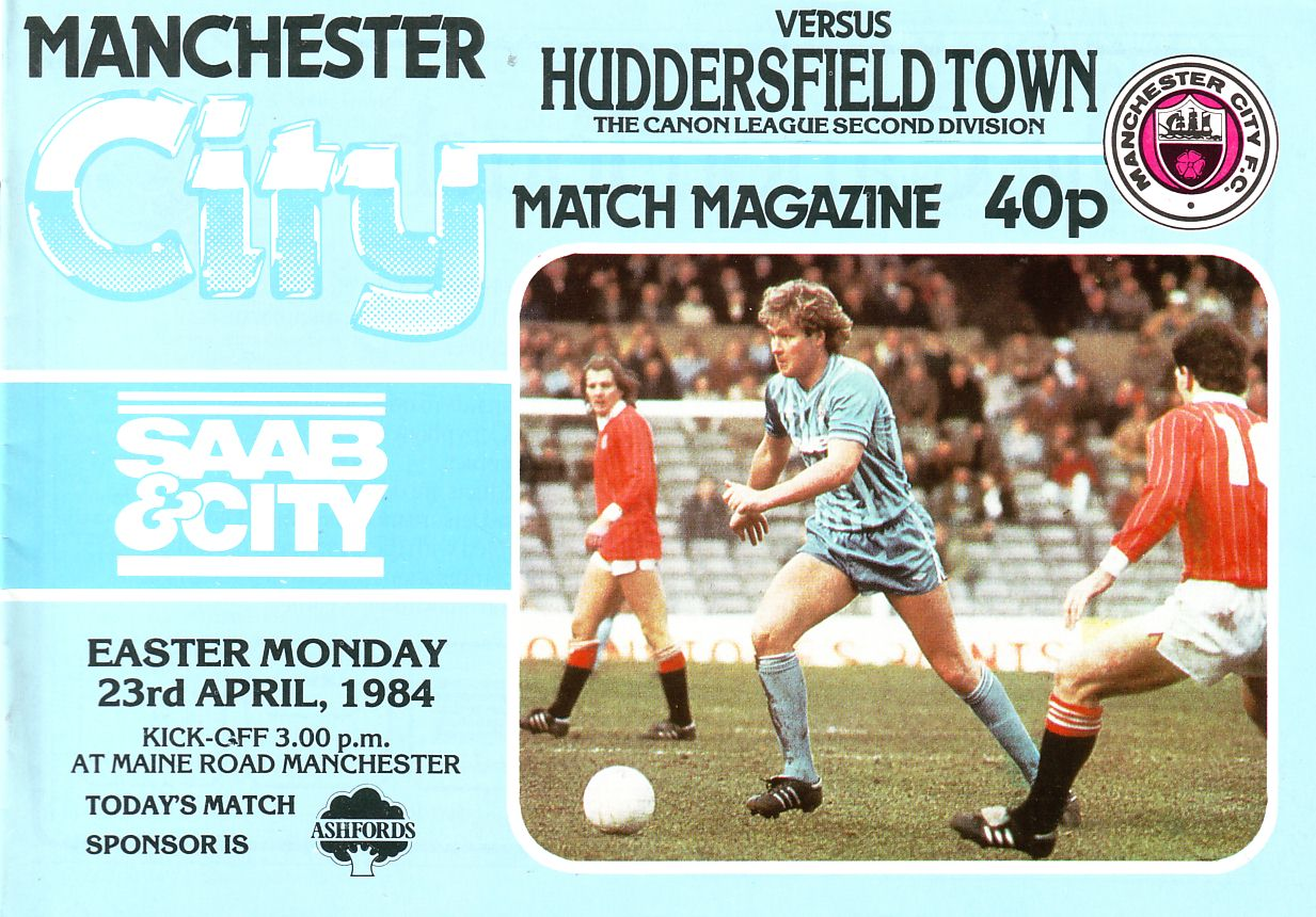 huddersfield home 1983 to 84 prog