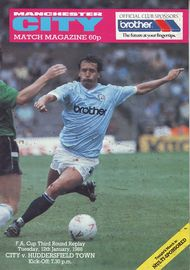 Huddersfield home replay fa cup 1987 to 88 prog