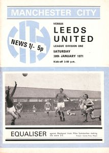 Leeds Home 1970-71 Programme
