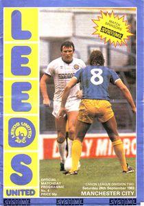 Leeds away 1983 to 84 prog