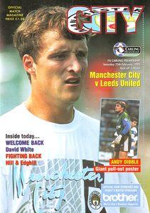 Leeds home 1994 to 95 prog