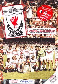 Liverpool away 1989 to 90 prog
