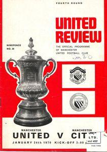 Man Utd Away 1969-70 Programme
