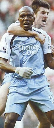 Man u away 2006 to 07 trabelsi goal