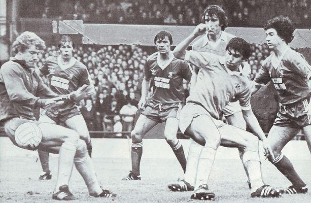 Middlesbrough away 1980 to 81 1st boro goal