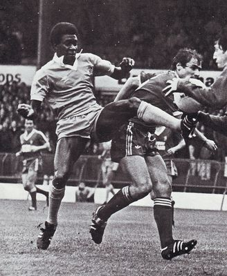 Middlesbrough away 1980 to 81 action