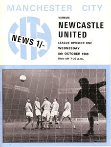 Newcastle home 1960-70 programme