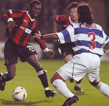 QPR away 2003 to 04 action2