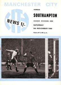 Southampton home 1969-70 programme