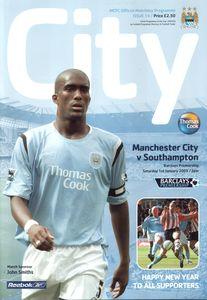 Southampton home 2004 to 05 prog