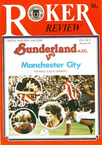 Sunderland away 1980 to 81 prog