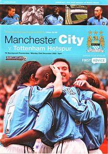 Tottenham home 2002 to 03 prog