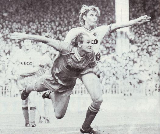 Watford Home 1982 to 83 tueart goal