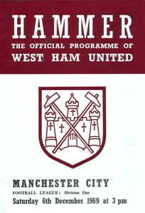 West Ham Away 1969-70 Programme