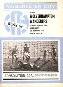Wolves Home 1970-71 Programme