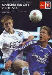 Youth cup final 2007 to 08 prog