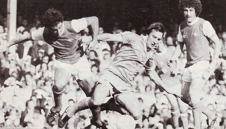 arsenal away 1979 to 80 action