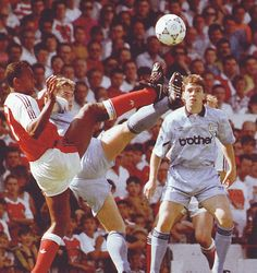 arsenal away 1991 to 92 action