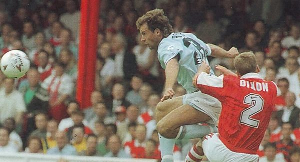 arsenal away 1994 to 95 action