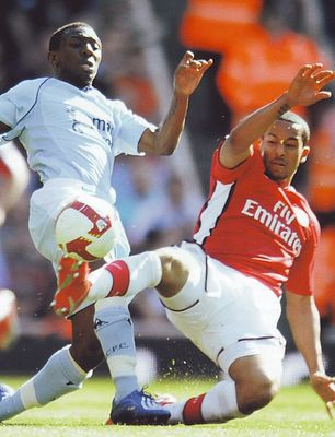 arsenal away 2008 to 09 action