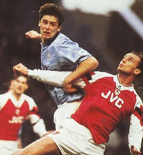 arsenal home 1992 to 93 action