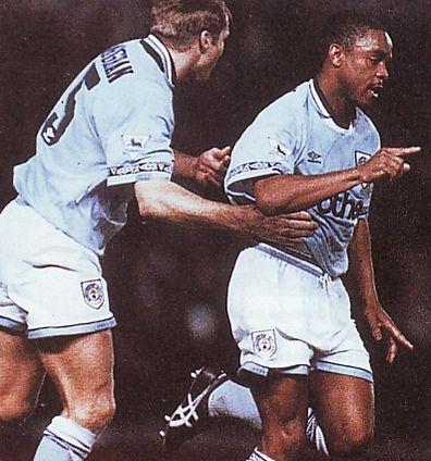 arsenal home 1994 to 95 simpson goal