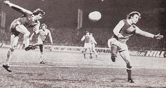 arsenal home league cup 1977 to 78 action