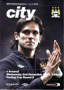 arsenal league cup 2009 to 10 prog