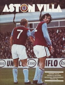aston villa away 1976 to 77 prog