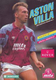 aston villa away 1990 to 91 prog