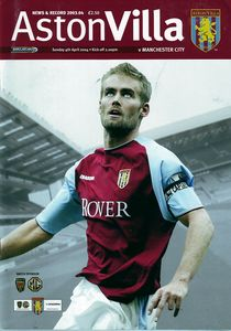 aston villa away 2003 to 04 prog