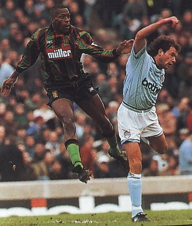 aston villa fa cup 1994 to 95 action