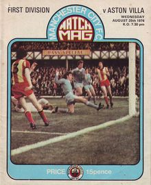 aston villa home 1976 to 77 prog