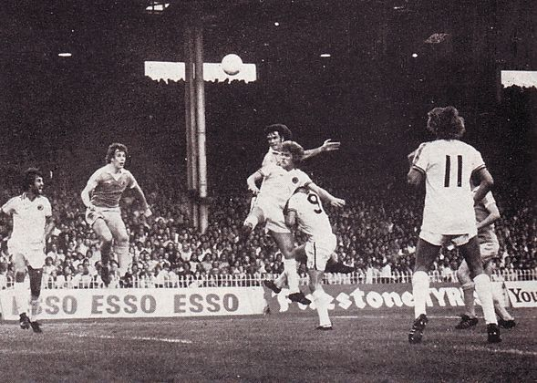 aston villa home 1976 to 77 watson goal