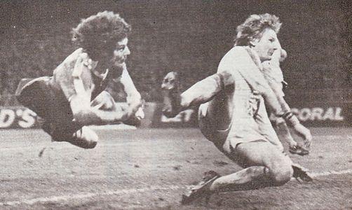 aston villa home 1977 to 78 kidd goal