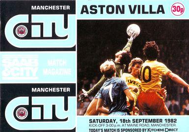 aston villa home 1982 to 83 prog