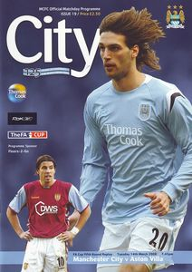 aston villa home fa cup replay 2005 to 06 prog