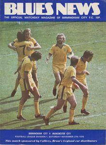 birmingham away 1976 to 77 prog