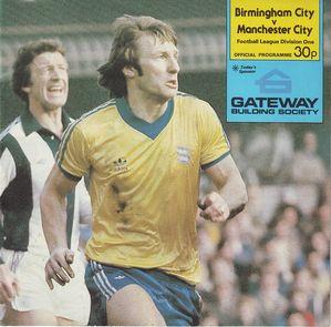 birmingham away 1980 to 81 prog